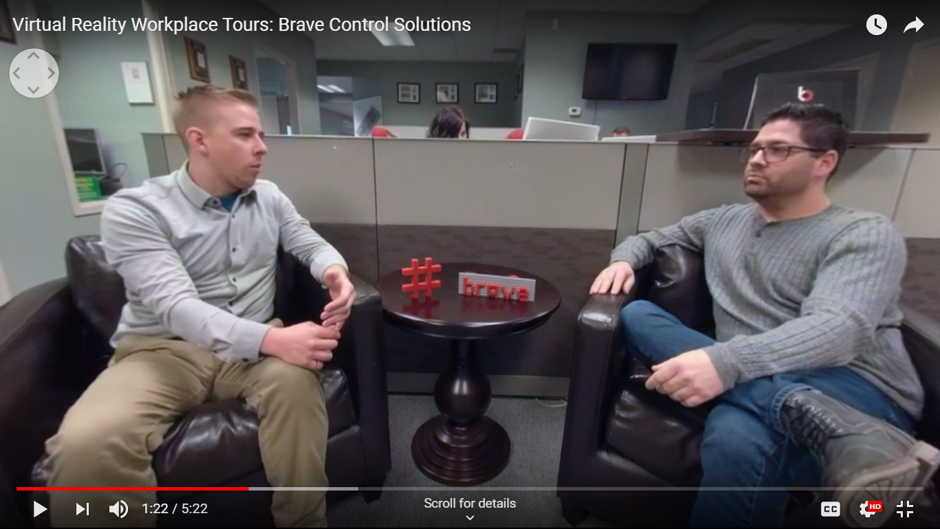 Virtual Reality Workplace Tour of Brave